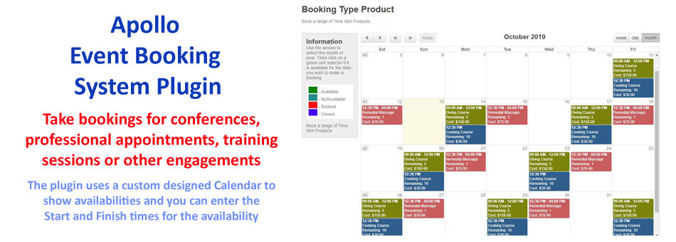 Accommodation Reservation and Event Booking System Plugin